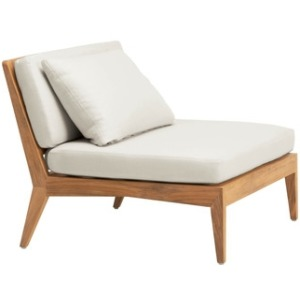 Sectional Lounge Chair w/ Loose Cushions
