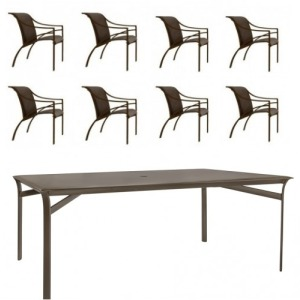 Pasadena 9 PC Dining Set