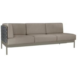Crossings Left Arm Sofa