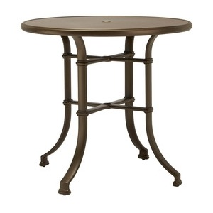 "42"" Round Bar Table w/ Aluminum Top (no umbrella hole)"