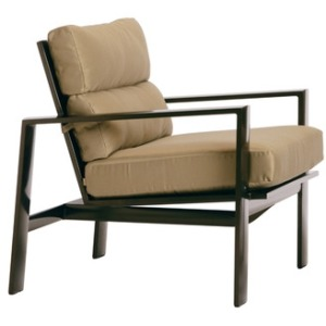 Lounge Chair w/ Loose Cushions