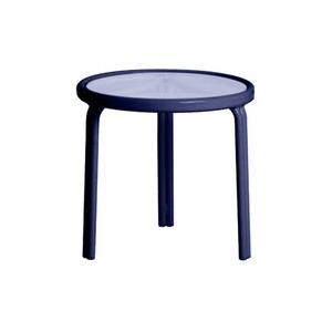 20'' Round Occasional Table, Glass Top