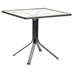 32\'\' x 32\'\' Pedestal Dining Table/lock top