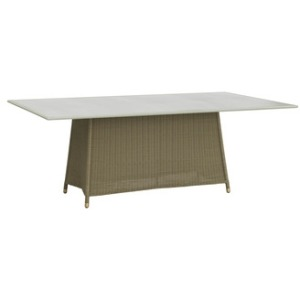 "42"" x 78\"" Dining Table w/ Aluminum Top"