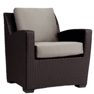 Club Chair w/ Loose Cushions