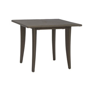 "36"" Square Woven Bistro / Dining Table"