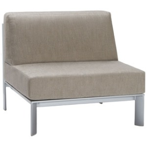 Center Sectional, Loose Cushions