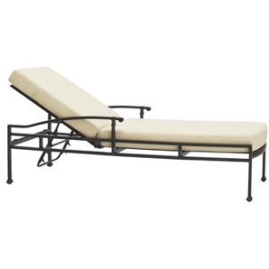 Adjustable Chaise, Loose Cushions