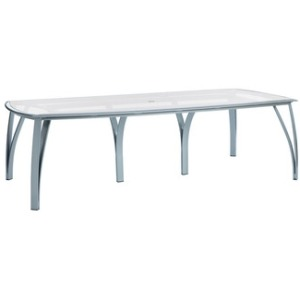 52'' x 103'' Rect Umbrella Dining Table