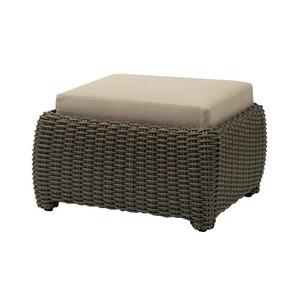 Ottoman, Loose Cushion