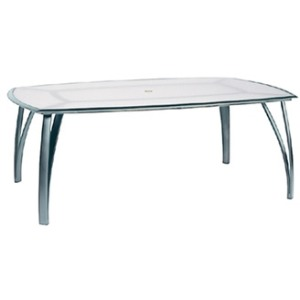 "52"" x 80"" Rect Umbrella Table"