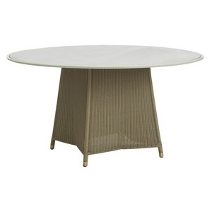 54 Dining Table w/ Aluminum Top