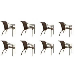 Pasadena Arm Chair, Sling - Set of 8