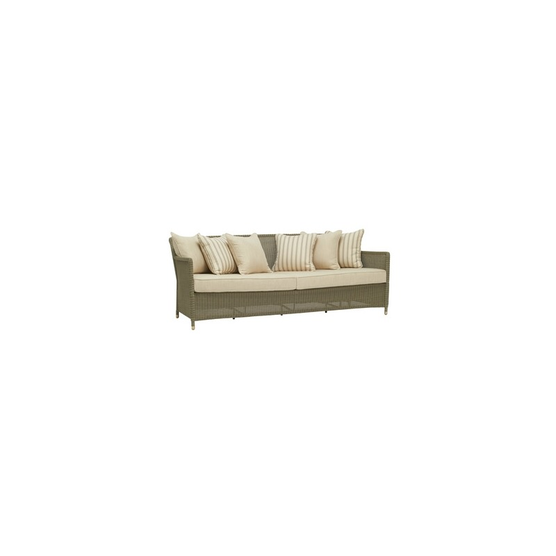 Sofa w/ Loose Cushions and Pillows