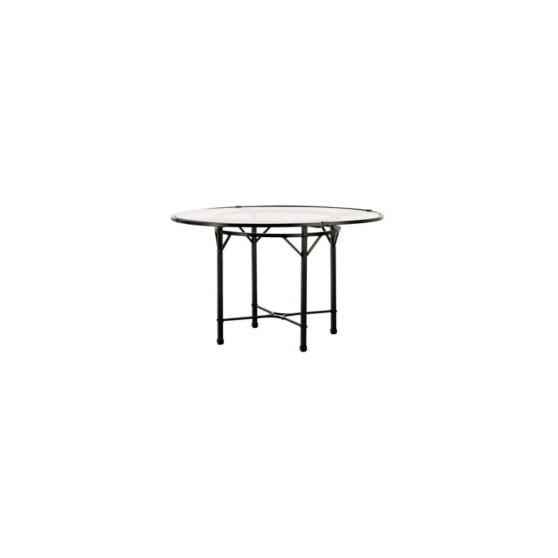 48'' Round Pedestal Dining Table (no umbrella hole)
