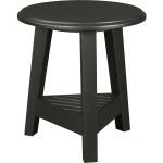 New Vintage™ Round Lamp Table, Time-Worn Ebony