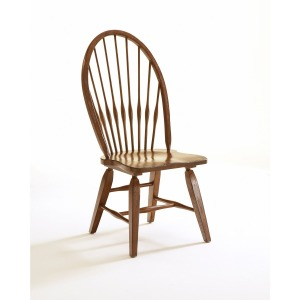 Attic Heirlooms Windsor Side Chair, Natural Oak Stain