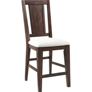 Attic Heirlooms Splatback Counter Stool