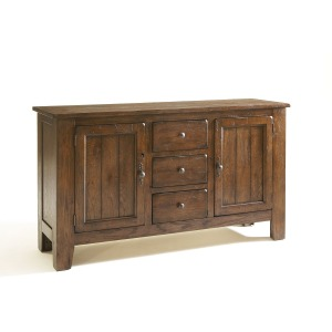 Attic Heirlooms China Base, Rustic Oak