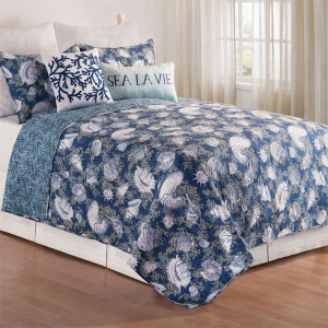 Cape Coral Full/Queen Quilt Set