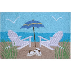 Beach Chairs Rug