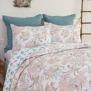 Key Biscayne King Quilt Set
