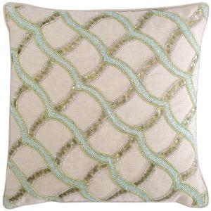 Sea Glass Ripple Pillow