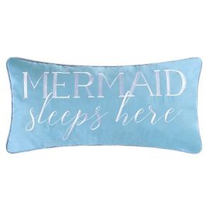 Mermaid Sleeps Here Pillow