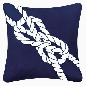Nautical Knot Pillow