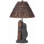 Bear/Honey Bee Table Lamp