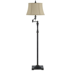 3 Way Madison Swing Arm Floor Lamp