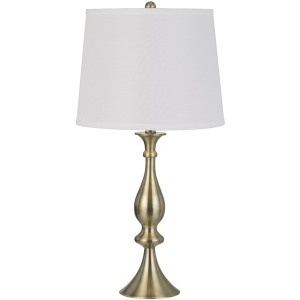 3 Way Pori Metal Table Lamp  - Set of 2