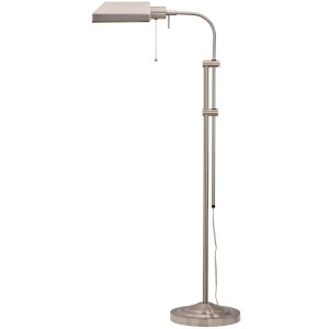Brushed Steel Floor Lamp
