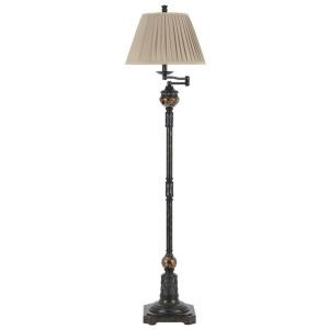 Aberdeen Metal/Resin Floor Lamp