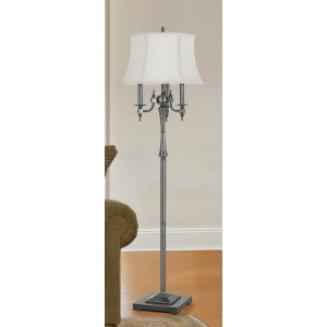 6 Way Madison Metal Floor Lamp