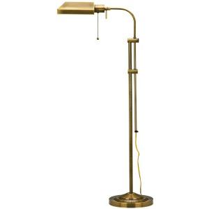 Antique Bronze Floor Lamp