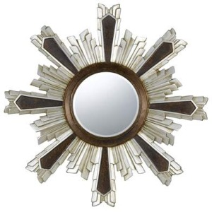 Chafe Polyurethane Beveled Mirror