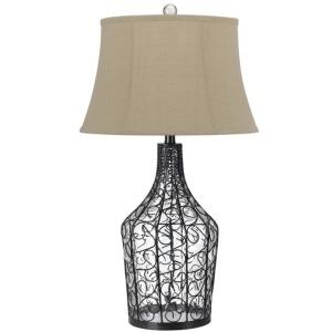 Palestine Glass Table Lamp