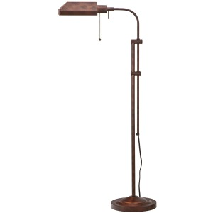 Rust Floor Lamp