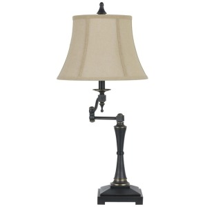 3 Way Madison Swing Arm Table Lamp
