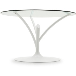 Acacia Round glass table