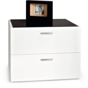 Jersey 2 drawer nightstand