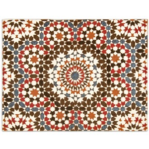 Marocco Moroccan-inspired rug with vintage look