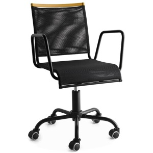 Web Race Metal swivel chair and mesh cover