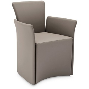 Nido Upholstered armchair with armrests