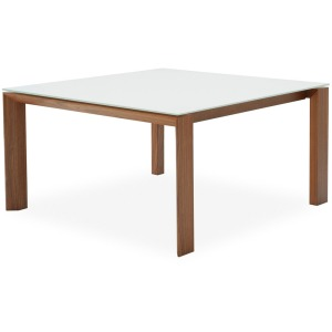 Omnia Square drop-leaf table