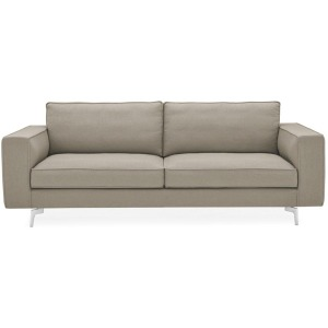 Square Open base squarish modular sofa.