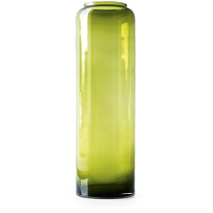 Honey Transparent glass vase