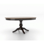 "30"" Round Wood Top Table 4848"