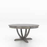 Wood Top Table 6060
